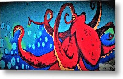 Tacoma Octopus  Metal Print