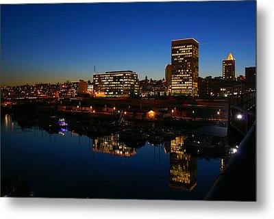 Metal Print featuring the photograph Tacoma Reflections by Rob Green