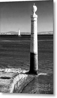 Tagus River View Metal Print by John Rizzuto