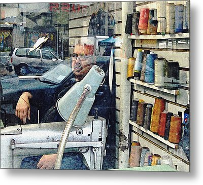 Tailor Shop Metal Print by Sarah Loft