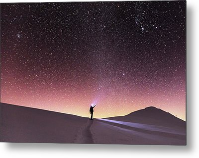 Talking To The Stars Metal Print by Evgeni Dinev