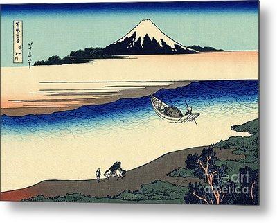 Tama River In The Musashi Province Metal Print
