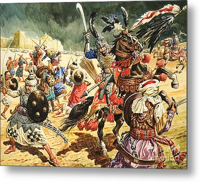 Tamerlane The Terrible Metal Print by CL Doughty