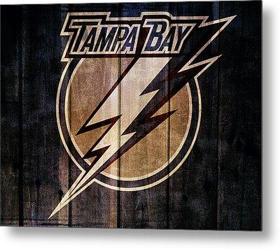 Tampa Bay Lightning Barn Door Metal Print