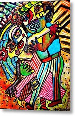 Tango Dance Of Love Metal Print