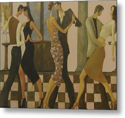 Tango Night Metal Print by Glenn Quist