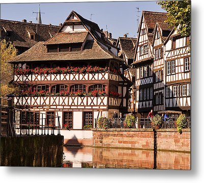 Tanners House Strasbourg Metal Print by Louise Heusinkveld