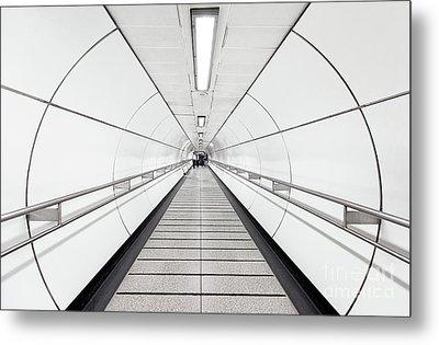 Target Lines Metal Print by Svetlana Sewell
