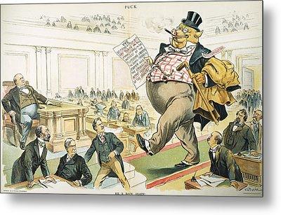 Tariff Lobbyist, 1897 Metal Print by Granger
