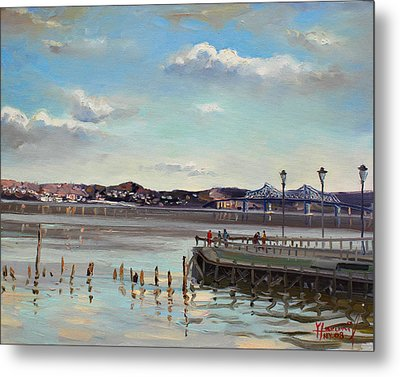 Tarrytown View Metal Print by Ylli Haruni
