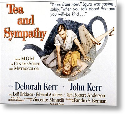 Tea And Sympathy, John Kerr, Deborah Metal Print