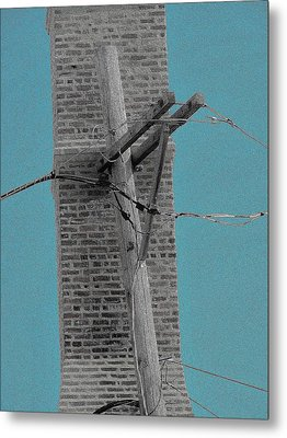 Telephonic 1 Metal Print