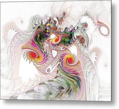 Metal Print featuring the digital art Tempest by NirvanaBlues