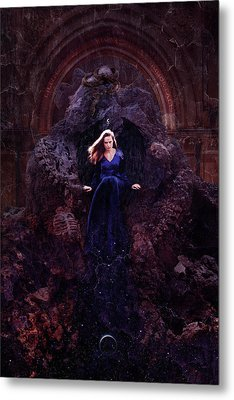 Temple Of Lilith Metal Print by Cambion Art