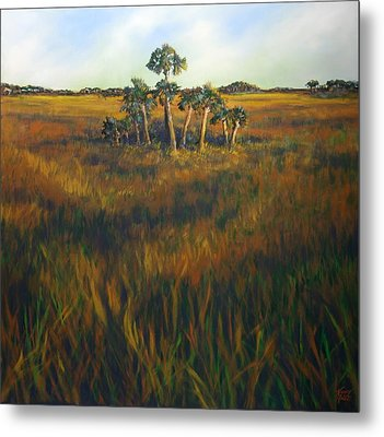 Ten Palms Metal Print by Michele Hollister - for Nancy Asbell