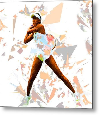 Metal Print featuring the painting Tennis 113 by Movie Poster Prints