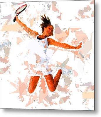 Metal Print featuring the painting Tennis 115 by Movie Poster Prints