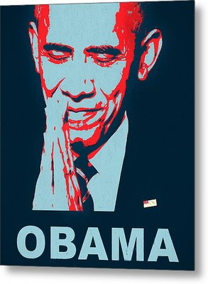 Thank You President Obama Metal Print by Dan Sproul