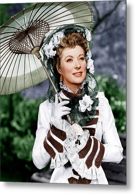 That Forsyte Woman, Greer Garson, 1949 Metal Print by Everett