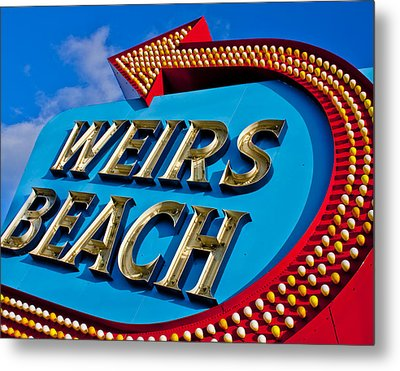 That Way To The Beach Metal Print by Jim McDonald Photography