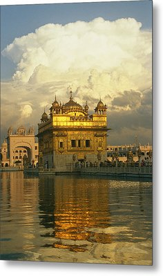 The 16-th Century Golden Temple Metal Print
