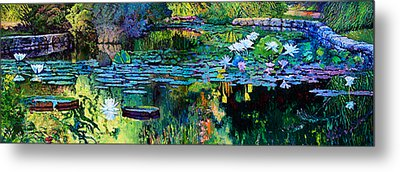 The Abstraction Of Beauty One And Two Metal Print by John Lautermilch