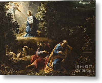 The Agony In The Garden Metal Print by Guiseppe Cesari