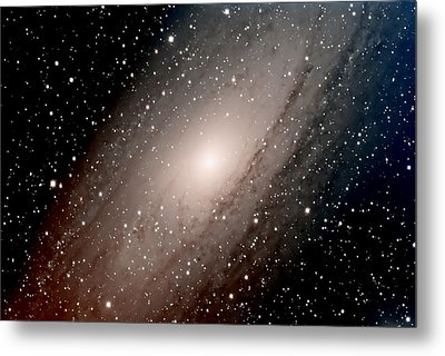 The Andromeda Galaxy Close  Up Metal Print by Jim DeLillo