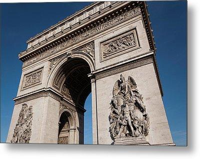The Arc De Triomphe Metal Print by D Plinth