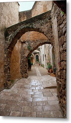 The Archways Of Villecroz Metal Print