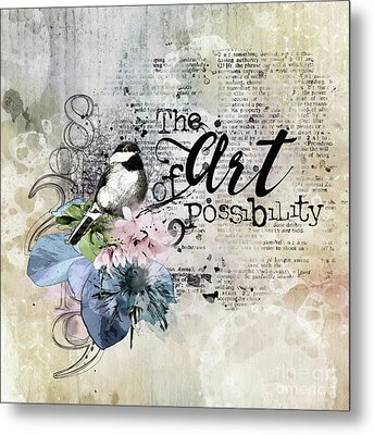 The Art Of Possibility Metal Print