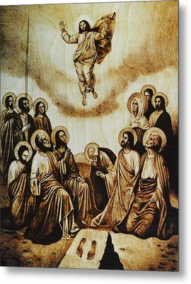 The Ascension Of Christ Metal Print by Dino Muradian