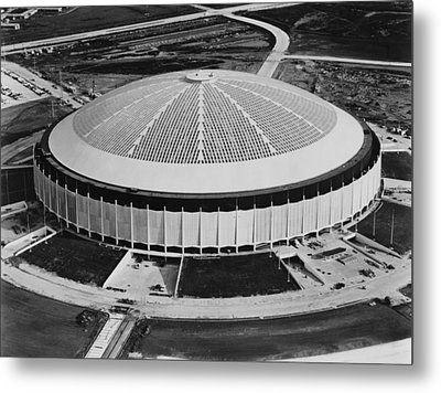The Astrodome Aka The Eighth Wonder Metal Print
