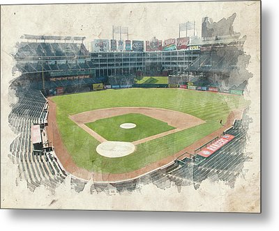 The Ballpark Metal Print