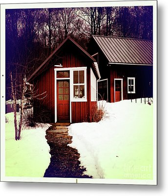 The Bally House Greenhouse Metal Print by Kevyn Bashore