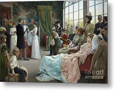 The Baptism, 1892 Metal Print
