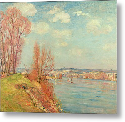 The Bay And The River Metal Print by Jean Baptiste Armand Guillaumin