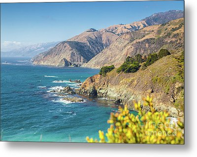 The Beauty Of Big Sur Metal Print by JR Photography