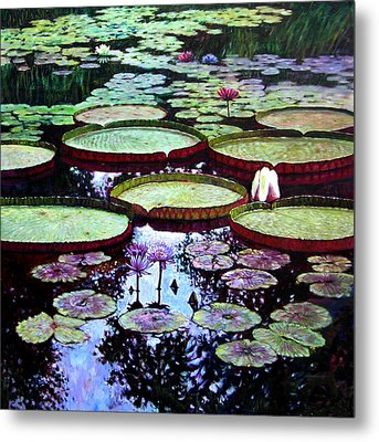The Beauty Of Stillness Metal Print by John Lautermilch