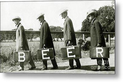 The Beer Boys Metal Print