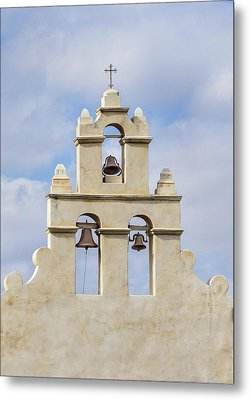 Metal Print featuring the photograph The Bells Of San Juan by Mary Jo Allen