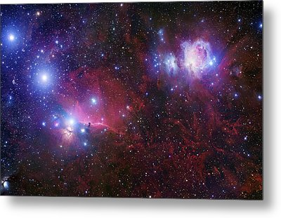 The Belt Stars Of Orion Metal Print by Robert Gendler