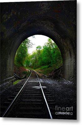 The Big Tunnel Metal Print