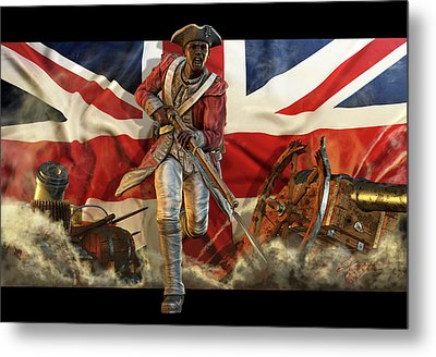 The Black Loyalist Metal Print by Kurt Miller