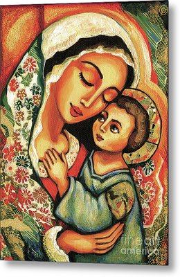 The Blessed Mother Metal Print