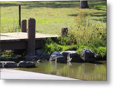The Bridge Metal Print by Ivete Basso Photography