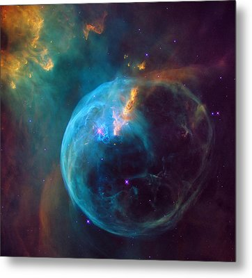 The Bubble Nebula Ngc 7653 Metal Print by Mark Kiver