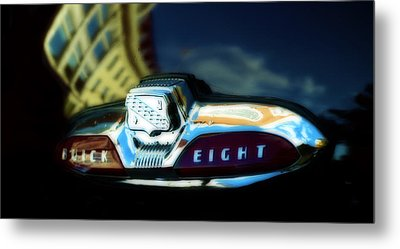 The Buick Eight  Metal Print by Steven Digman