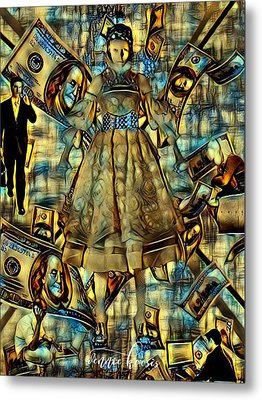 The Business Of Humans Metal Print by Vennie Kocsis