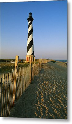 The Cape Hatteras Lighthouse Metal Print by Steve Winter